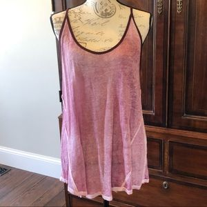 🌻🌻Free People We the Free Maroon Tank Size M